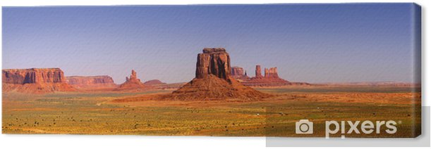 Monument Valley Canvas Print - Mountains