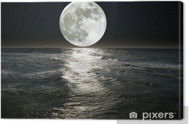 moon Canvas Print - Destinations