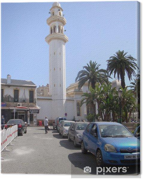 Mosquée El-Biar, Alger Canvas Print - The Middle East