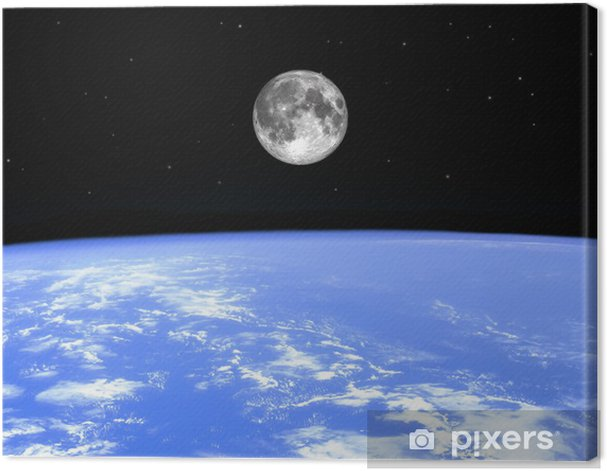 mother earth Canvas Print - Themes