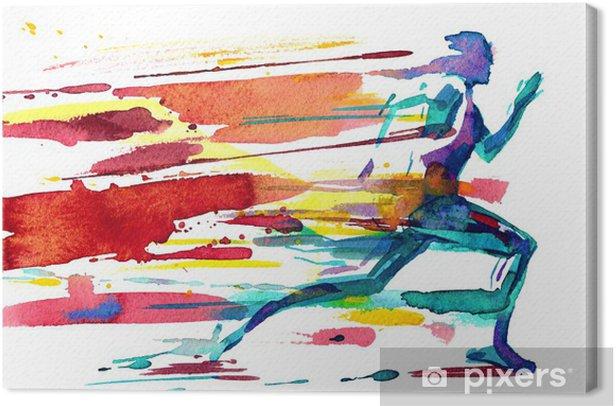 motion Canvas Print - Themes