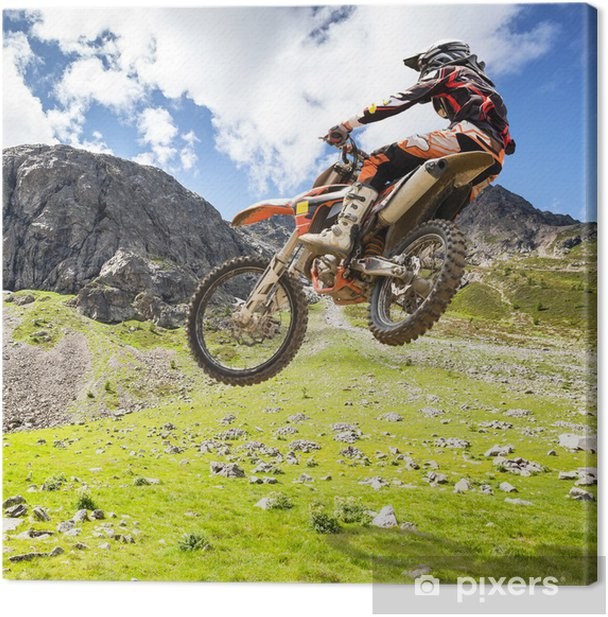 motocross outdoor Canvas Print - Extreme Sports