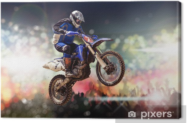 motocross Canvas Print - Extreme Sports