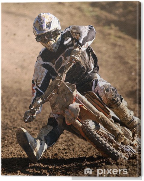 Motocross Canvas Print - Themes