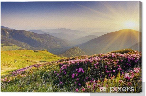Mountain landscape Canvas Print - Themes