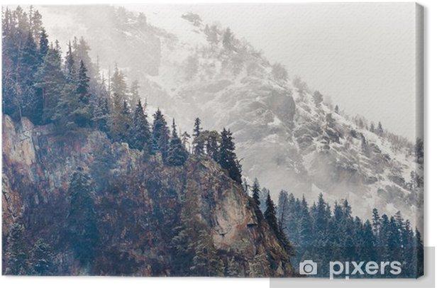 mountain Canvas Print - Mountains