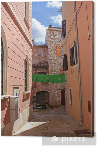 Narrow alley Canvas Print - Themes