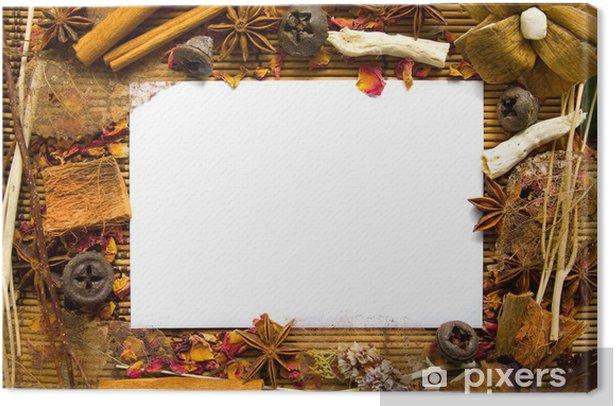 Natur Rahmen Canvas Print - Signs and Symbols