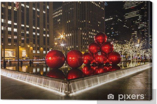 navidad nueva york Canvas Print - America