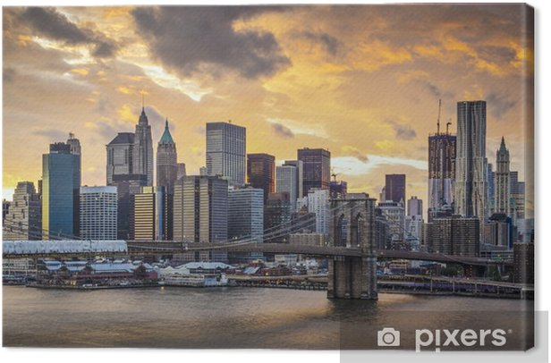 New York City Skyline Canvas Print -