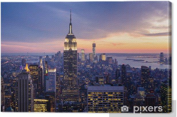 New York City Canvas Print -
