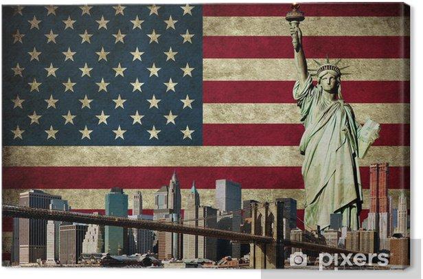 New York concept Canvas Print - Culture
