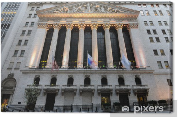 New York Stock Exchange Canvas Print - American Cities