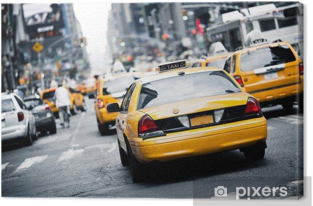 New York taxi Canvas Print - Themes