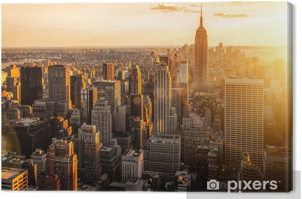 New York Canvas Print -