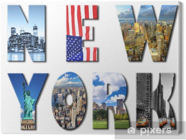 New York. Canvas Print - Themes