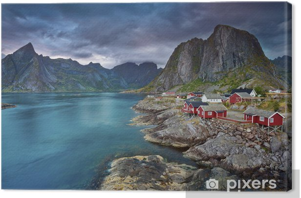 Norway. Canvas Print - Themes
