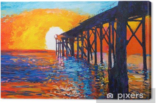 Ocean view Canvas Print - Hobbies and Leisure