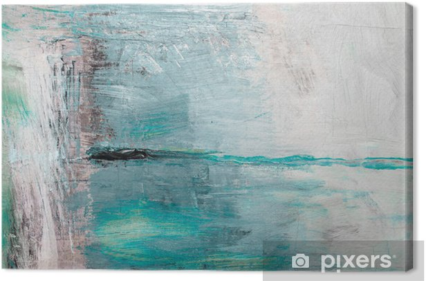 Oil painting abstract texture background Canvas Print - Art and Creation