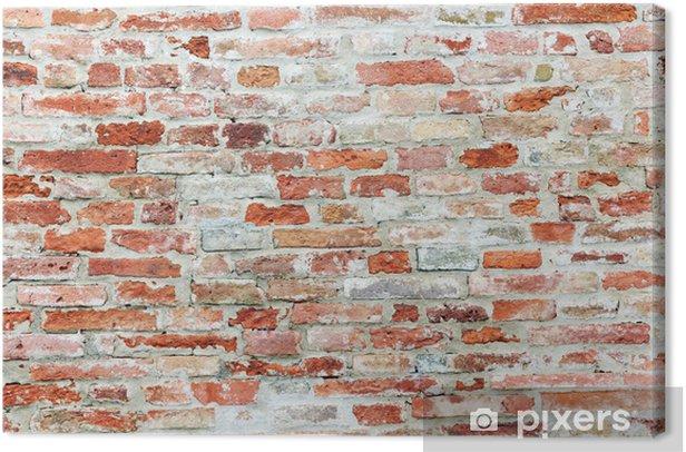old brick wall Canvas Print - Themes