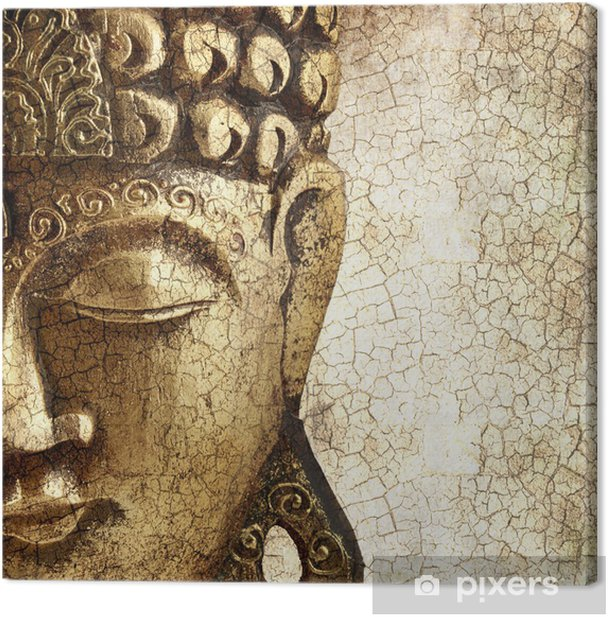 Old Buddha Canvas Print - Styles