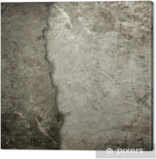 old grunge wall Canvas Print - Themes