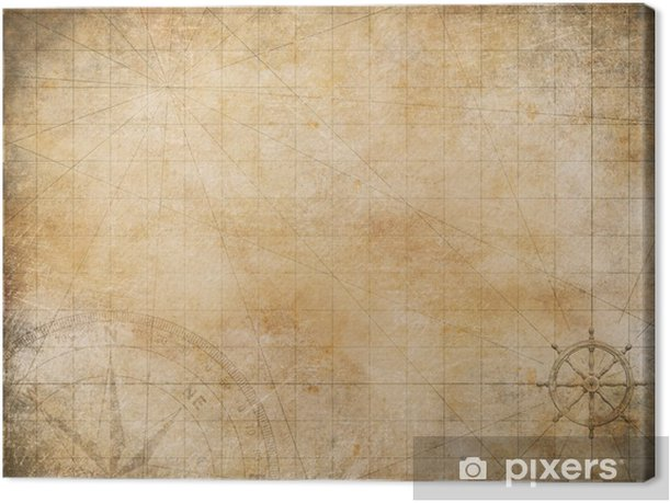 old map background Canvas Print • Pixers® - We live to change Old Map Background on