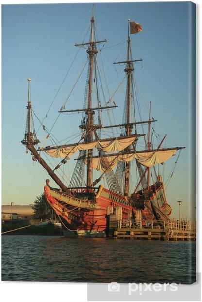 Old ship - Batavia Canvas Print - Boats