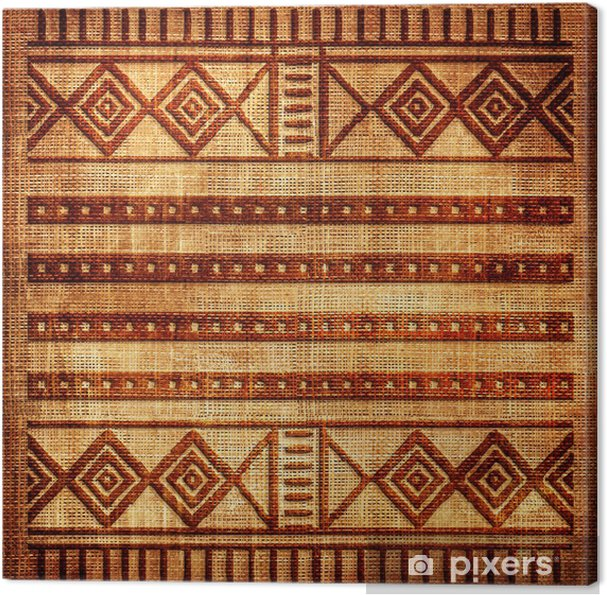 Old Texture With African Patterns Canvas Print Pixers We Live Extraordinary African Patterns