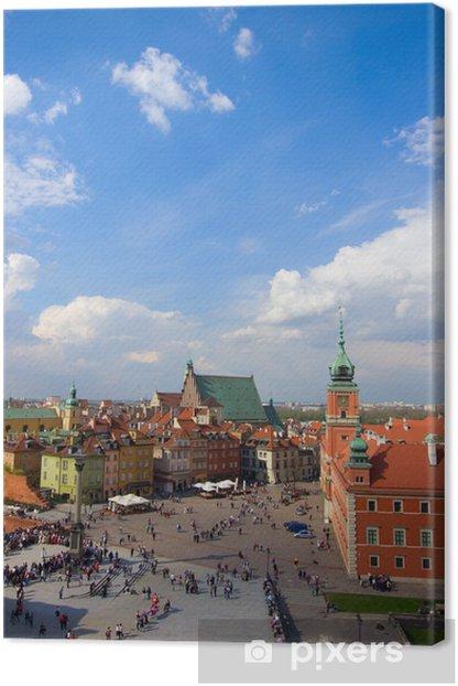 Old town, Warsaw, Poland Canvas Print - European Cities