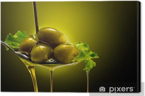 olio e olive Canvas Print - Olives