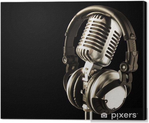 on the air!! Canvas Print - Hip Hop