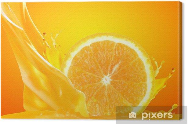 Orange juice Canvas Print - Juice