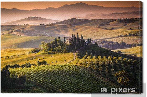 Paesaggio, Toscana - Italia Canvas Print - Themes