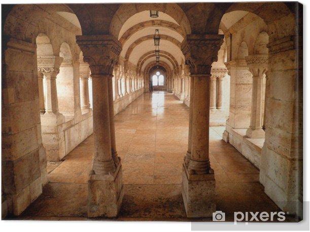 Palace Interior Canvas Print - Europe