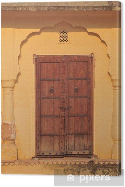 Palasttür in Indien Canvas Print - Asia