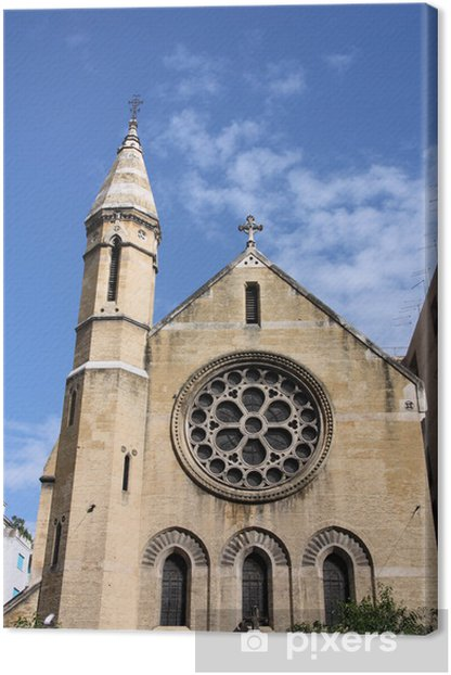 Palermo - Anglican Church of Holy Cross Canvas Print - Public Buildings