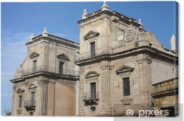 Palermo - Porta Felice city gate Canvas Print - Monuments