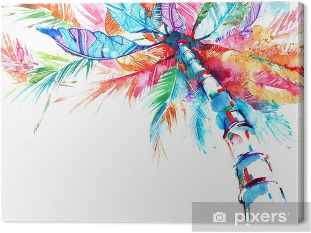 palm Canvas Print - Plants and Flowers
