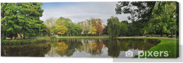 panoramic landscape Canvas Print - European Cities