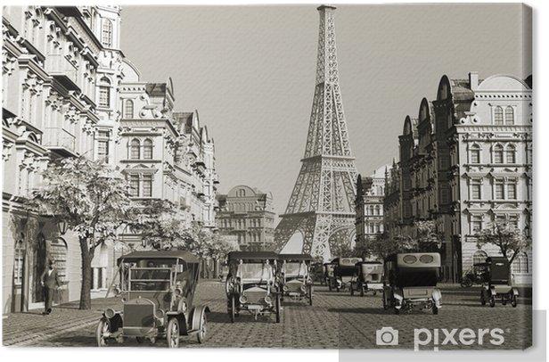 Paris Canvas Print - Paris