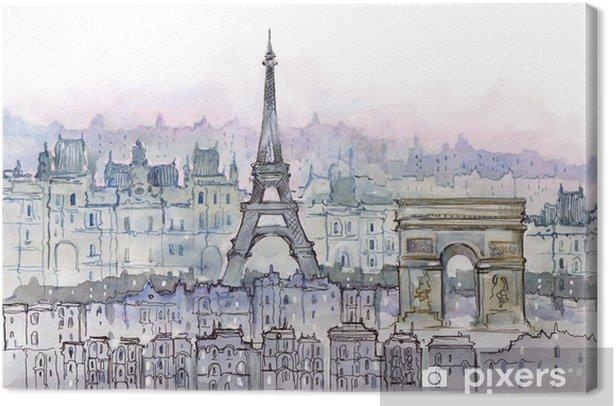 Paris Canvas Print - Styles