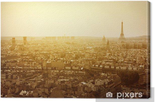 Paris Canvas Print - European Cities