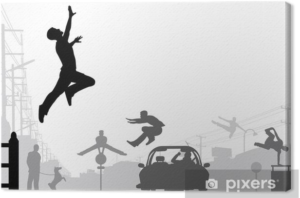 Parkour Canvas Print - Individual Sports