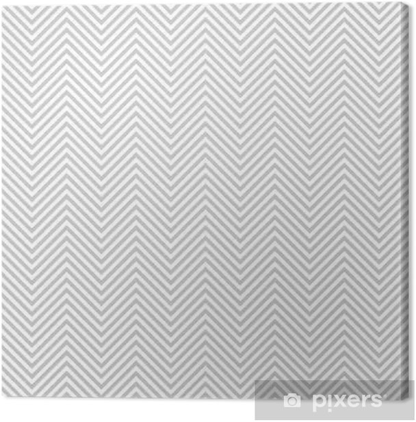 Pattern stripe seamless gray and white colors. Wave pattern stripe abstract background vector. Canvas Print - Graphic Resources