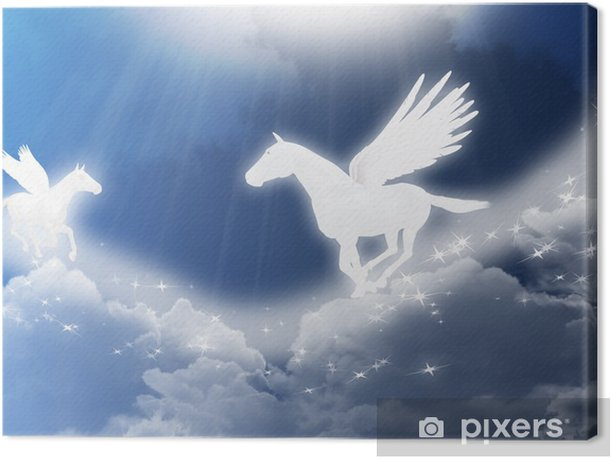 pegasus Canvas Print - Themes