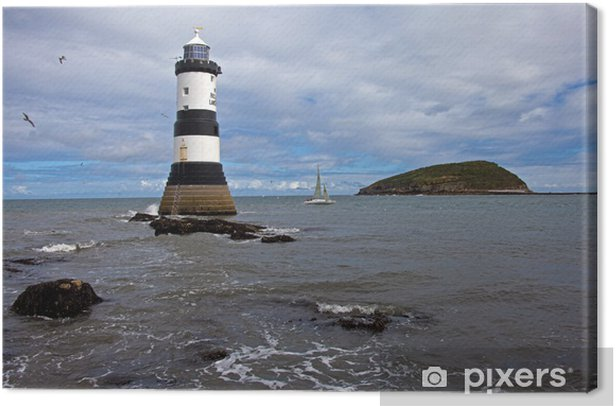 Penmon Point Canvas Print - Infrastructure