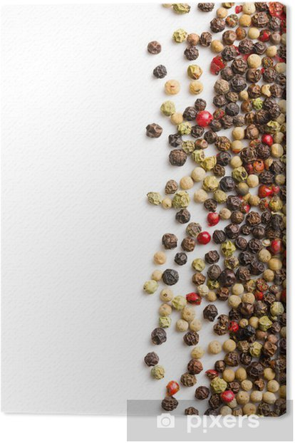 pepper spice Canvas Print - Spices, Herbs and Condiments