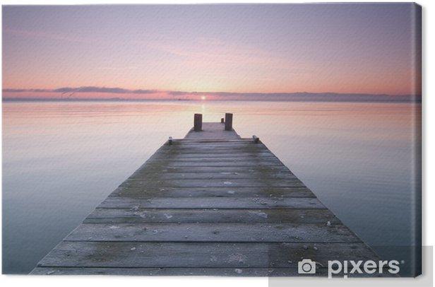 pier Canvas Print - Themes