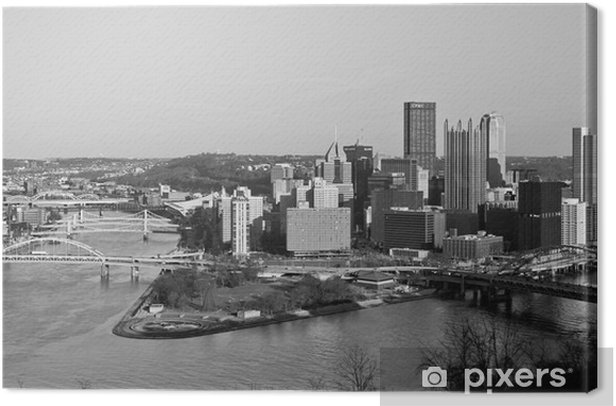 Pittsburgh down town Canvas Print - Styles